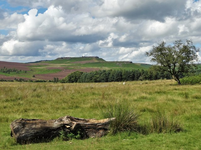 View from Longshaw Estate