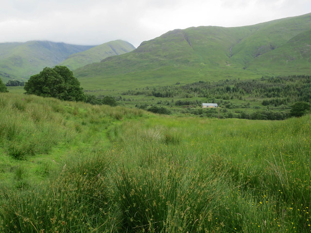 Looking across Glen Strae