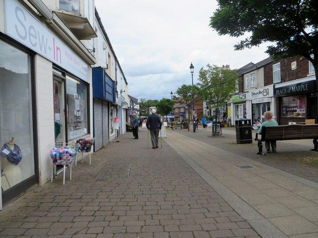 Market Street in Marple