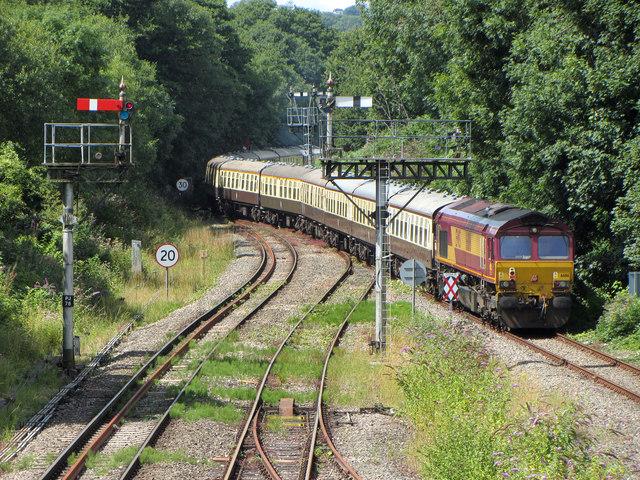 Railtour at Park Junction