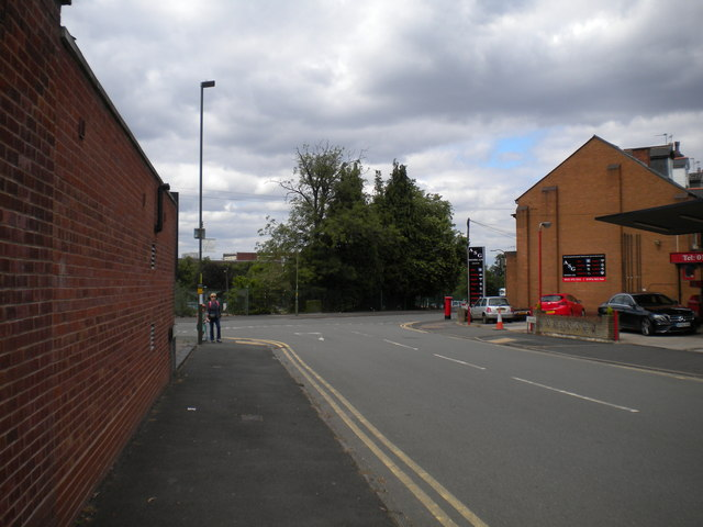 North end of Franklin Road, Bournville