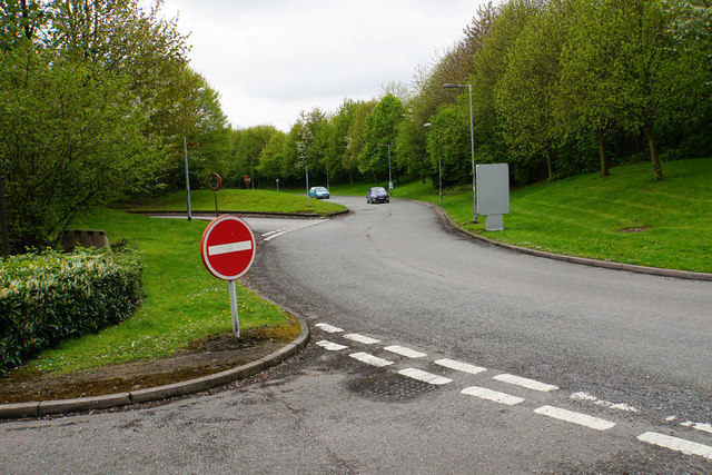 Exit road from Tamworth Services