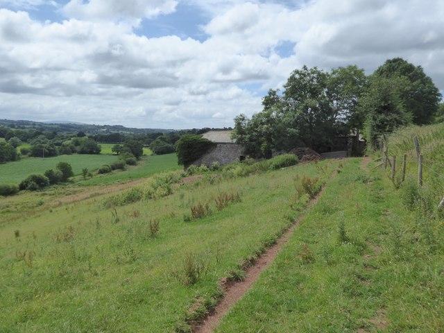 Path to Denbury Farm