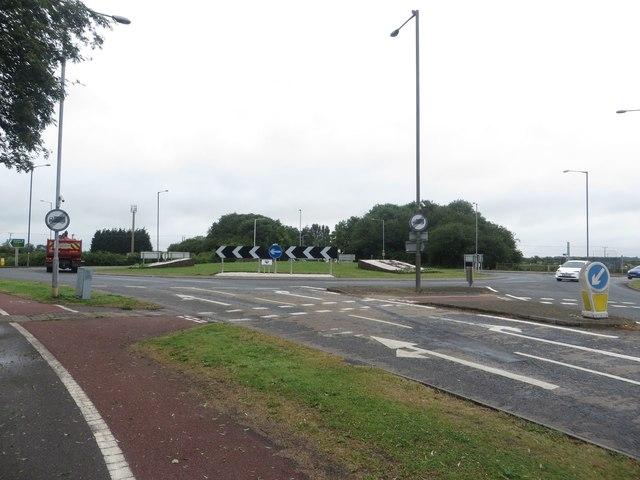Roundabout, Hull Bridge Road, Beverley