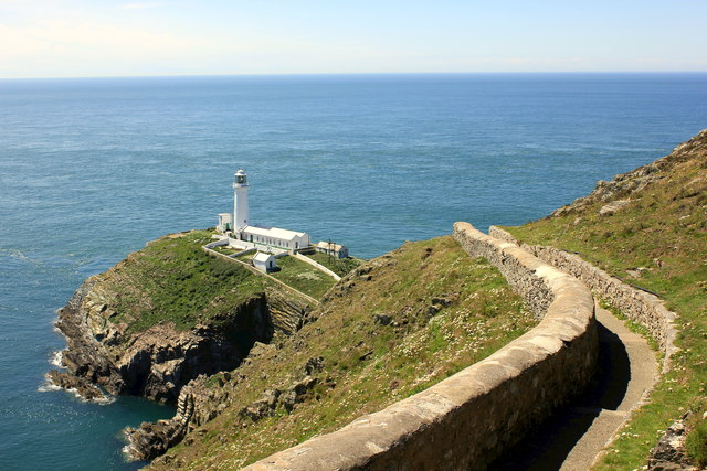 The path to South Stack