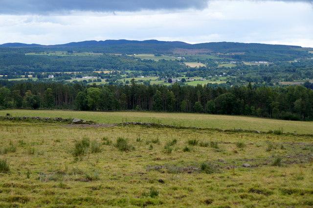 View towards Kiltarlity from Fanellen