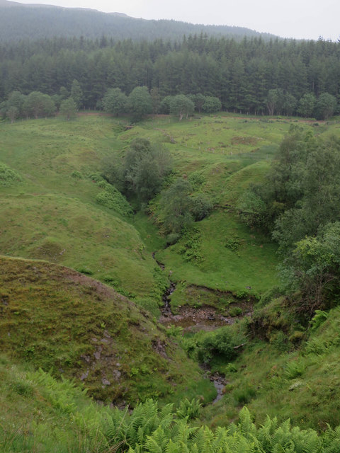 Crom Allt from West Highland Way