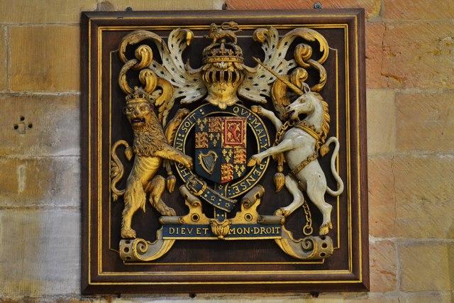 Tewkesbury Abbey: Royal Coat of Arms