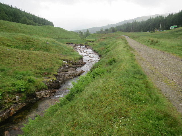 Crom Allt, West Highland Way and A82