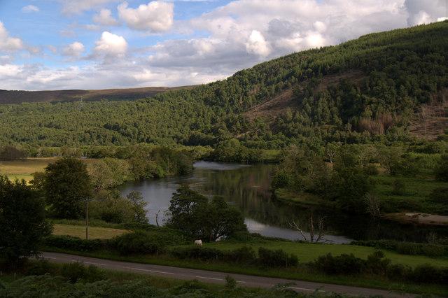 River Beauly at Knocknashalavaig