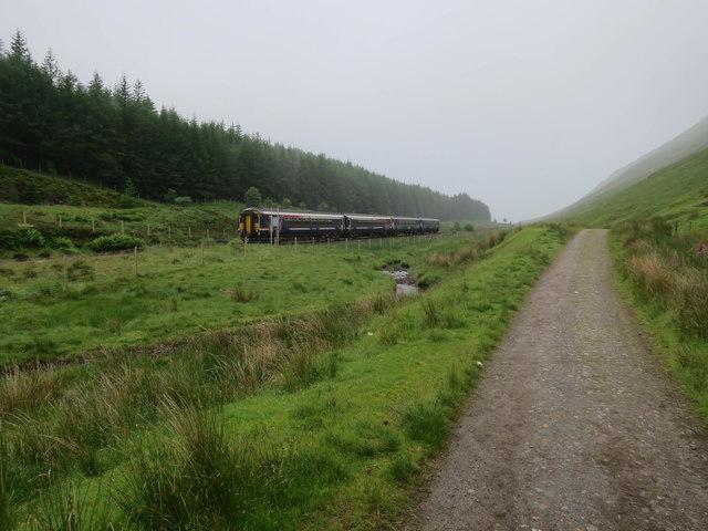 West Highland Way and Railway