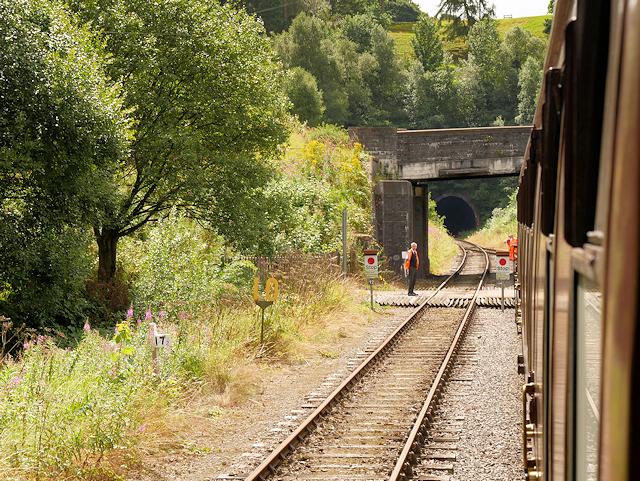 Churnet Valley Railway, Bridge at Leek Road