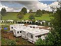 SJ9852 : Glencote Caravan Park, Cheddleton by David Dixon