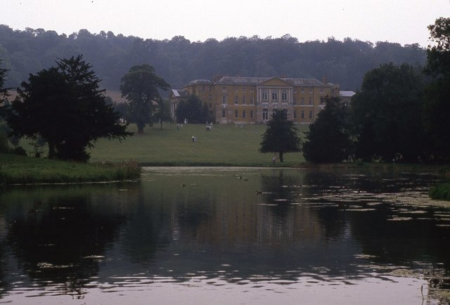 View to West Wycombe House