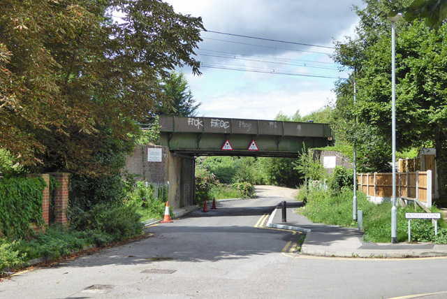 Railway bridge 785 SSV, Ironwell Lane