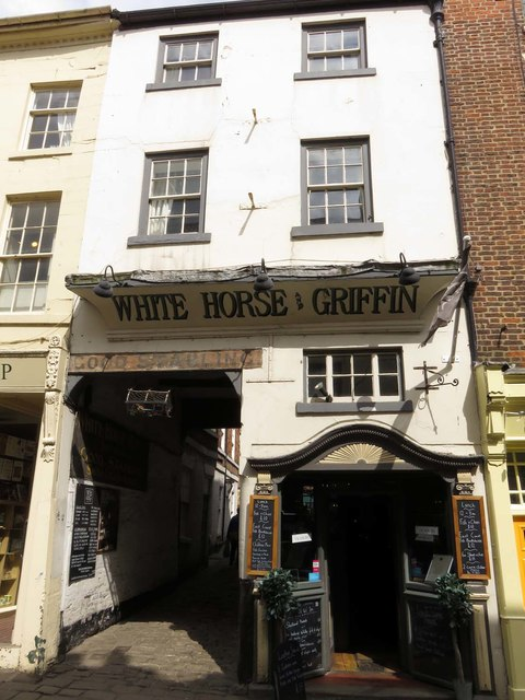 The White Horse and Griffin on Church Street