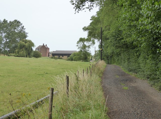 Track to Connetts Farm