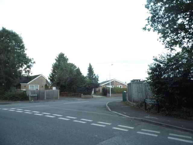 Norlands at the junction of Heath Lane