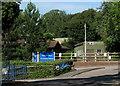 SX8965 : Scout hut and bus stop, Torquay Boys' Grammar School by Derek Harper