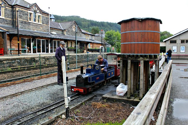Ross visits Betws-y-Coed