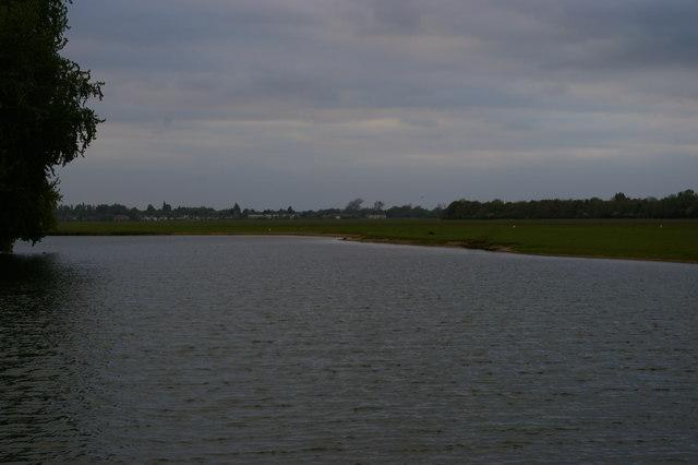 Looking upstream at Medley