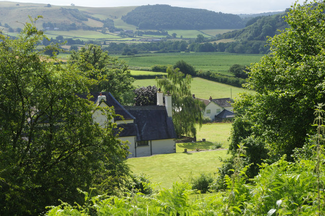 View over Pilleth