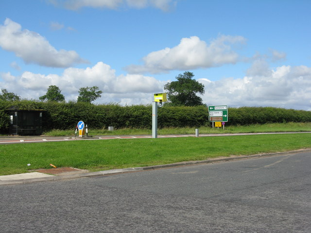 The A1 at West Mains