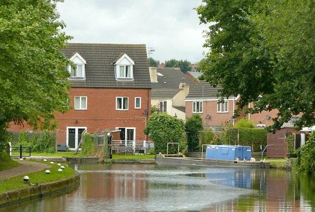 Erewash Canal near Gallows Inn