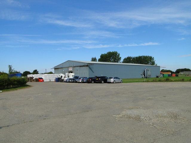 T2 Hangar at ex-USAAF Station Raydon