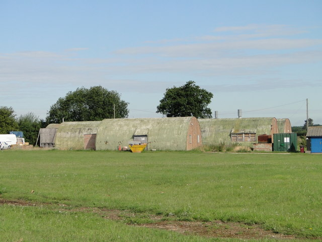 Complex of small ex-military Nissen type huts