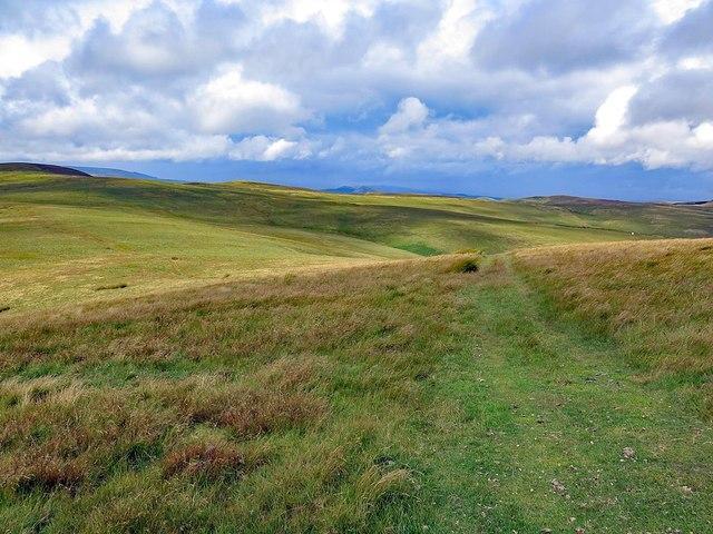 Track on Deel's Hill