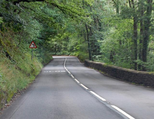 A3124 through Deershill Wood