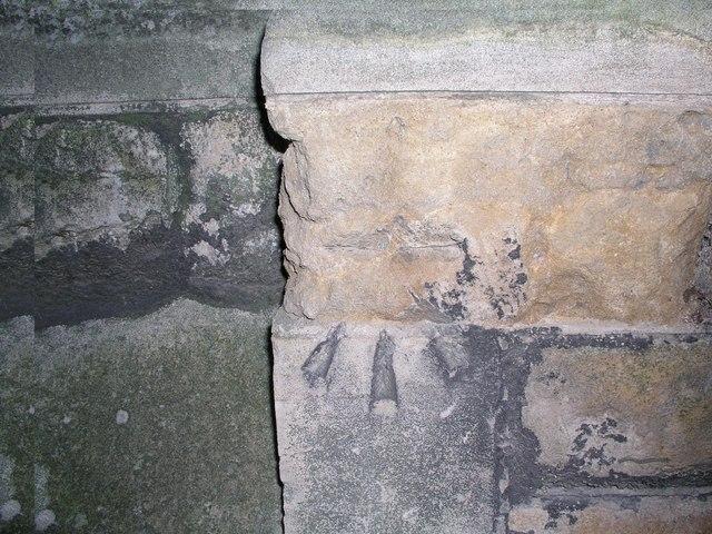 Cut Mark: Lincoln, St. Swithin's Church