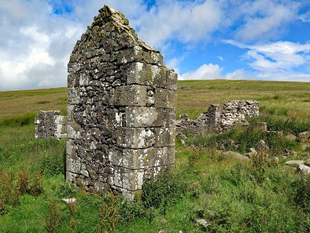 Ruin at Buckham's Walls