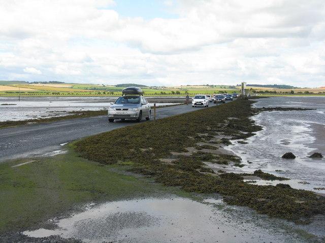 Heading for Lindisfarne