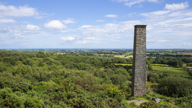 Chimney near Newtownards