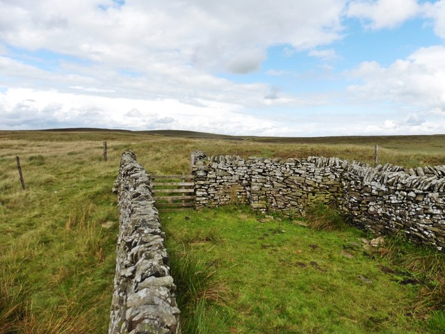 Sheepfold on top of Cheeks Hill