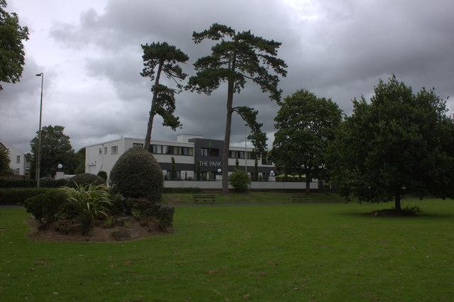 Park hotel from Rock Park, Barnstaple