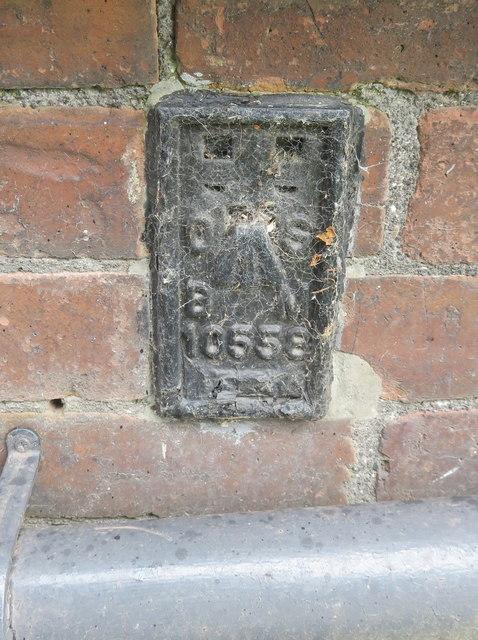Flush Bracket 10558 on the 'Childe of Hale', Hale Village