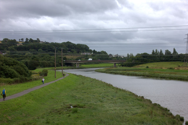 River Taw from the old GWR rail bridge