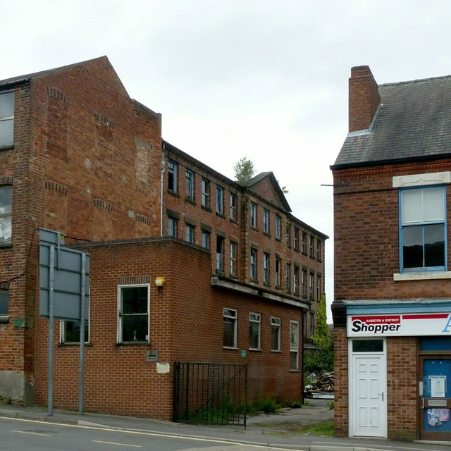 Former Bailey's lace and hosiery factory, Heanor Road