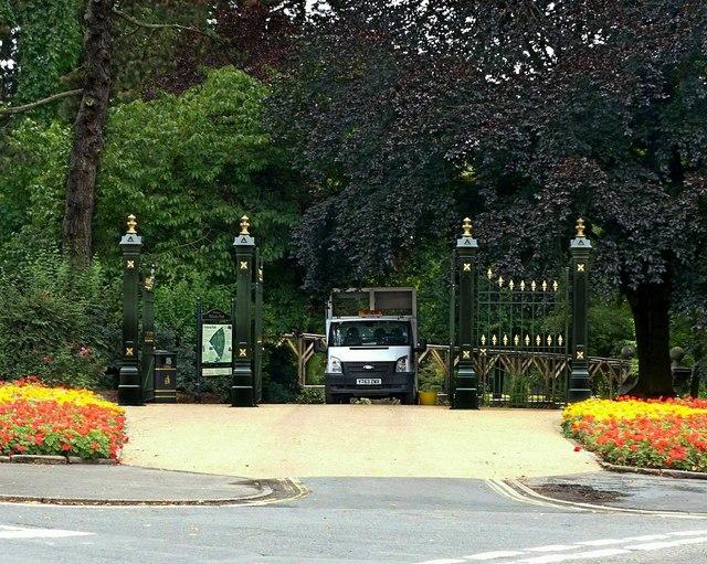 Gateway to Victoria Park, Ilkeston