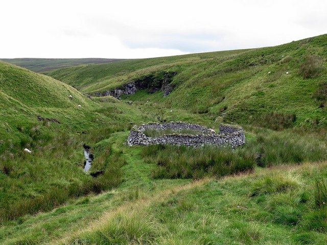 Sheepfold by Rennies Burn