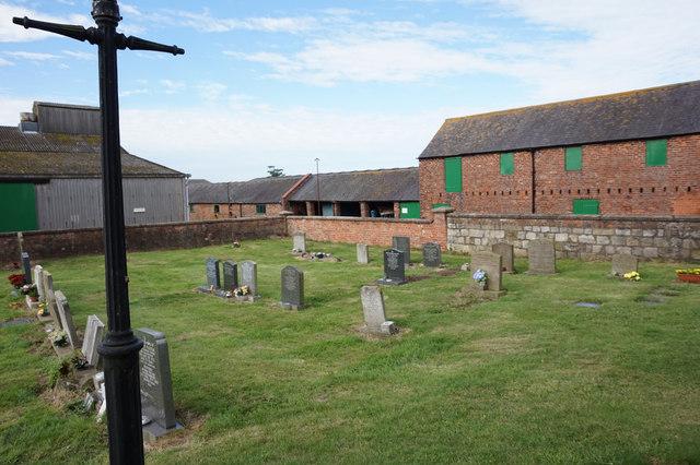 Graveyard at St Mary the Virgin Church, Swine