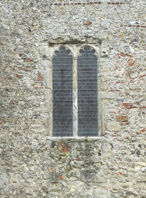 Minster Abbey: window detail and Anglo-Saxon traces