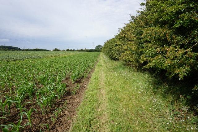 Path near Fairholme Farm