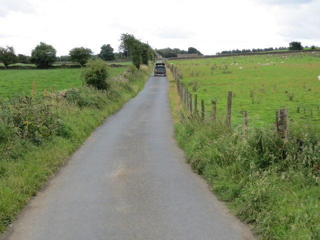 Road from Eavestone to the B6265