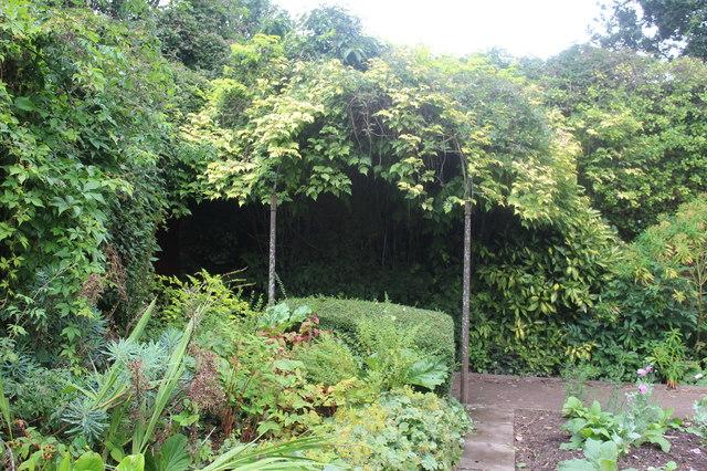 Pagoda, Orchard Garden, Tredegar House