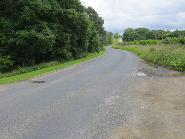 Road from High Grantley to Risplith