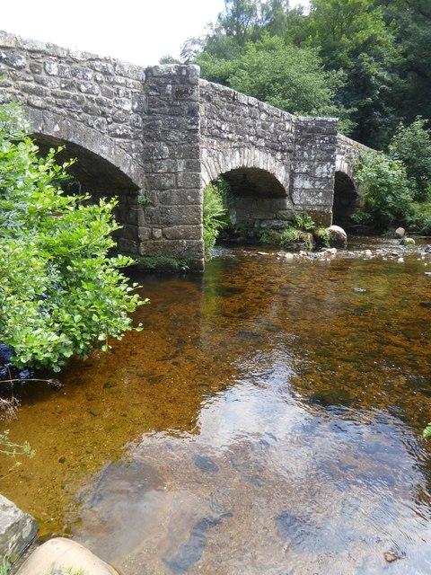 Fingle Bridge over River Teign
